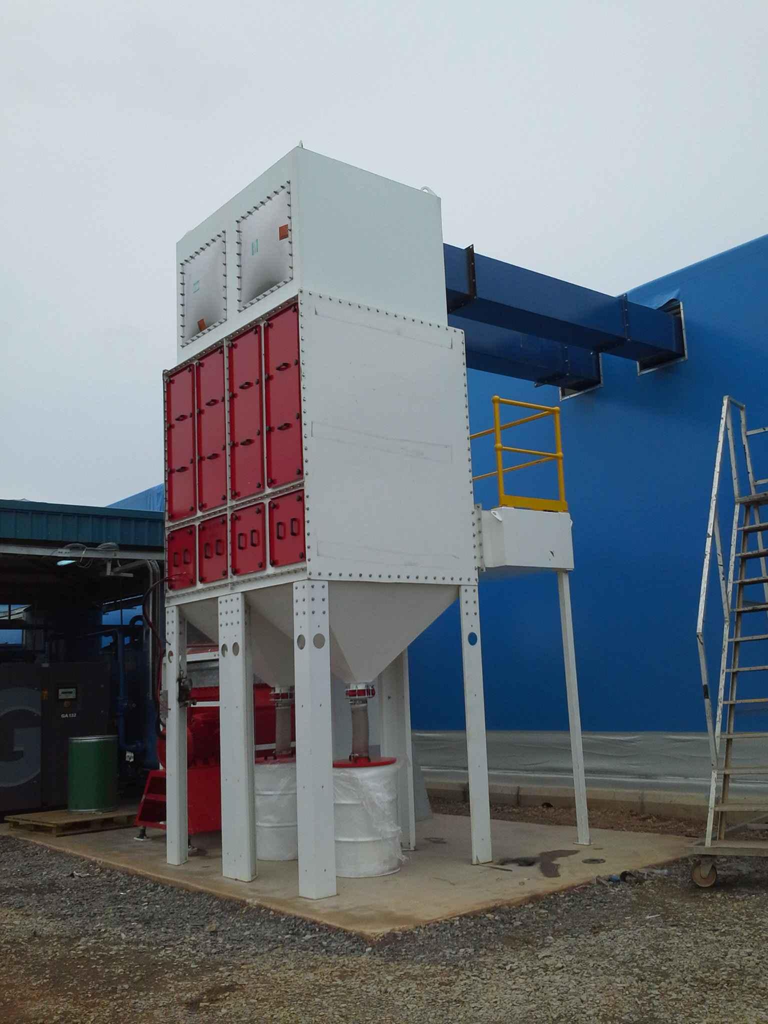 Blastroom Ventilation Dust Collector
